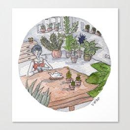 Personal Garden Canvas Print