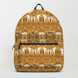 Yellow + Gray Fairy Tale Backpack