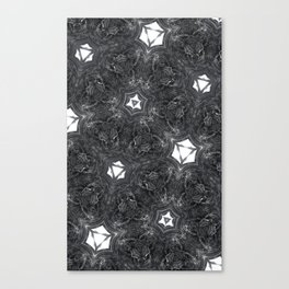 fractal ribbons Canvas Print