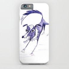Border Collie Blue Slim Case iPhone 6s
