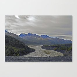 Alaskan Mountains Canvas Print