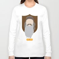 phil jones Long Sleeve T-shirts featuring Phil by Maxwell Lesatz