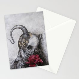 Rose Tattoo Stationery Cards