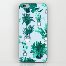 Houseplants All Over The Place iPhone & iPod Skin