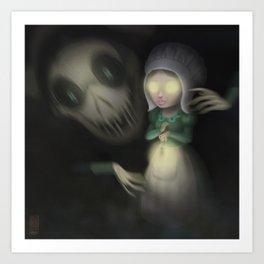 Lorna ( Over the garden wall) Art Print