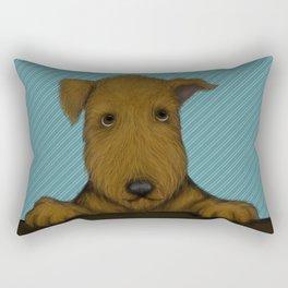 Blue Augie Rectangular Pillow
