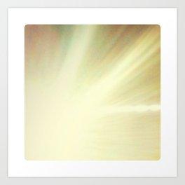 Abstract #17 (Rays) Art Print