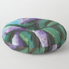 Buddleia abstract Floor Pillow