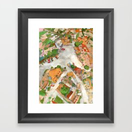 Tala Square Framed Art Print