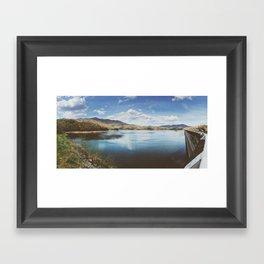 Fontana Dam Panorama • Appalachian Trail Framed Art Print