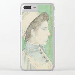 Portrait of Nurse Nelly, Jan Toorop, 1894 Clear iPhone Case