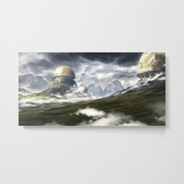 Observatorium Metal Print