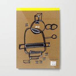 649 Metal Print