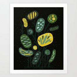 Curious Flora Art Print