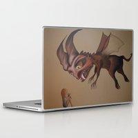 nightmare Laptop & iPad Skins featuring Nightmare by Walko