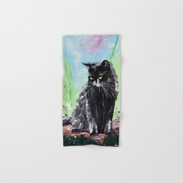 My little cat - kitty - animal - by LiliFlore Hand & Bath Towel