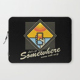 WARM WITH WI-FI Laptop Sleeve