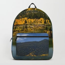 7435 - Autumn in Aspen, Colorado Backpack