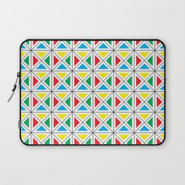 Texture X - Primary colors. Laptop Sleeve