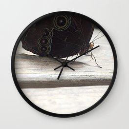 Whispers away Wall Clock