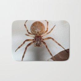 Spider on my garage !! Bath Mat