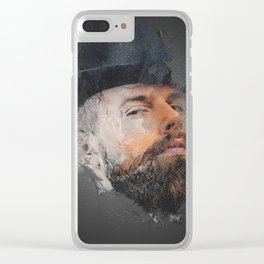 Splashed Clear iPhone Case