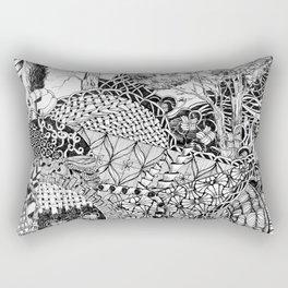 Black and White Design 7 Rectangular Pillow