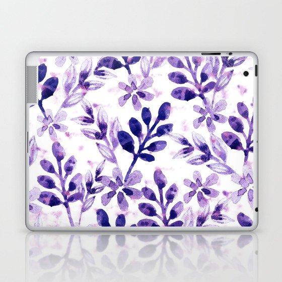 Watercolor Floral VIV Laptop & iPad Skin