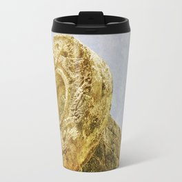 Chichen Itza Football game Travel Mug