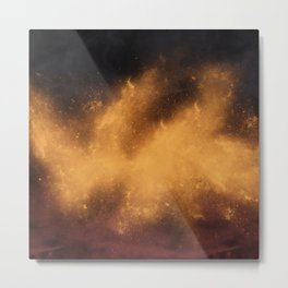 War Abstract Galaxy Nebula Space V12 Metal Print