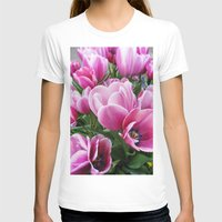 tulips T-shirts featuring tulips by Liudvika's Lens