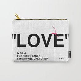 """LOVE"" Carry-All Pouch"