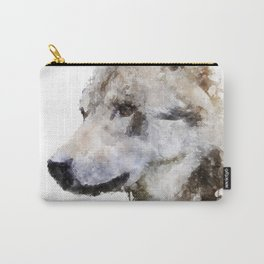 Wolf watercolor Carry-All Pouch