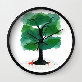 Man & Nature - The Tree of Life Wall Clock