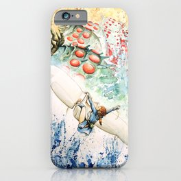 """""""The flying princess"""" iPhone Case"""