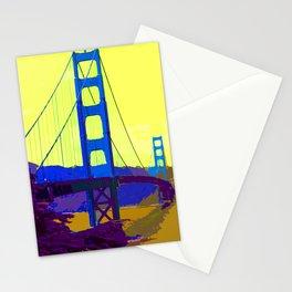 Golden_Gate_Bridge_2015_0419 Stationery Cards