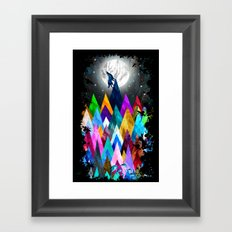 Wolf XIC Framed Art Print