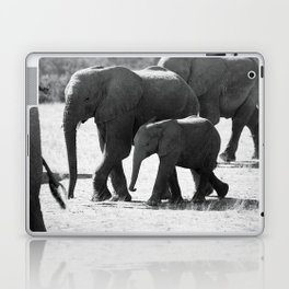 Mother and baby elephant Laptop & iPad Skin