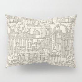 Ancient Greece natural Pillow Sham