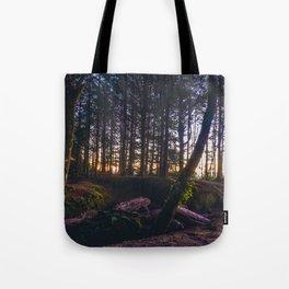 Wooded Tofino Tote Bag