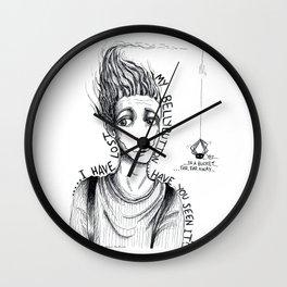 A thing, far away Wall Clock