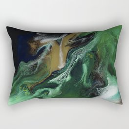 Trimeresurus Stejnegeri - Resin Art Rectangular Pillow