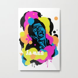 Soul Activism :: James Brown Metal Print