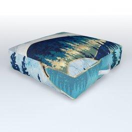 Morning Stars Outdoor Floor Cushion