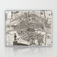 PARIS Old map Laptop & iPad Skin