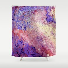 Red Hat Society Two Shower Curtain
