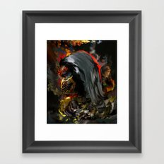 ninja Framed Art Print