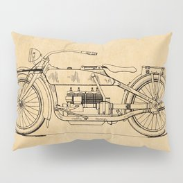 US Patent - Design for an early HD Motorcycle Pillow Sham