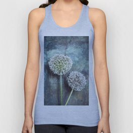 Allium Flowers Unisex Tank Top