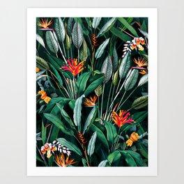 Midnight Garden V Art Print
